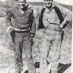 Earl and Roscoe Miller in Korea