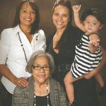 4 GENERATIONS KATY, KATHLEEN, STEPHANIE, & CALI.