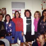 Fran at CJ Morris with some of us she worked with.