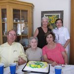 Mom's 90th birthday with our cousins