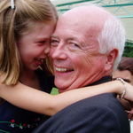 With Grand-daughter, Katie, in Washington, D.C. 2003