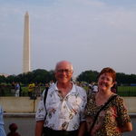 With Deborah, Washington, D.C. 2003