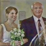 Bob with his daughter Jennifer in April, 2003