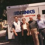 A Brink's Truck at a family reunion in Glendale, CA in 1995.  