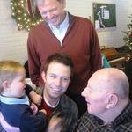 Four Generations: Elwyn, Jerry, Jason, and Calvin Schommer