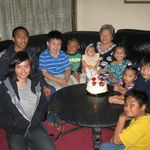 GRANDMA'S BIRTHDAY AT DAUGHTER RY'S HOME