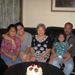 GRAMS WITH MONICA AND THOL PECH'S FAMILY
