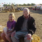 Seiver's Corn Maze in Shakopee MN with Melissa 2003