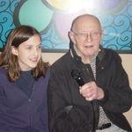 Grandpa Singing with Rebecca 2004