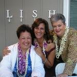 At Nana's 90th birthday party.