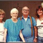 Murrhee Shaw Burns, Vera Shaw, Junior Shaw and Kitty Shaw Bryan