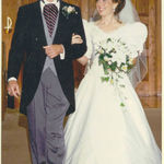 Walking Janet down the aisle, June 1994