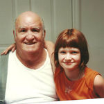 Junior Shaw and his  Grand daughter Kaely Langlois