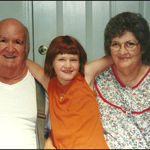 Junior and Gloria with their Grand daughter Kaely