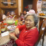 GRAMS ENJOYING PHO, CHRISTMAS 2012