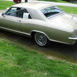 You know how much he loved his many Mercedes, but this may have been his favorite car.  It was a brand new 1965 Buick Riviera.