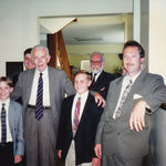 Harold with nephews Bob & Clint Wesseman, Peter & Sam Deibler, and Silas