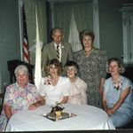 Harold & Mary's 50th wedding anniversary.  Helen, Mary Ann, Harold, Mary, Marilyn & Linda