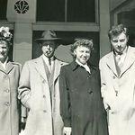 Elwyn with Mom, Dad and sister Dorothy
