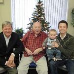 4 generations - Elwyn, Jerry, Jason and Calvin Schommer 2009