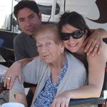 Metzik with Cathy and Nacor