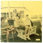 Aunt Jean summer of 1974. We always had the best times together and looked forward to our get togethers out to the cabin.  She was always so nice to all of us.