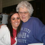 Grandma and Cara...Pretty ladies :)