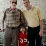 Father's Day: Bob, Aaron and Joe