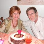 July 2012: Bob and Karen celebrating 32 years of marriage.