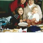 Georgi, Carigan, Aunt Ginny and Annabel