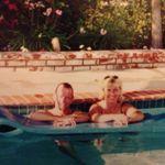John & Debbie  Relaxing in the pool