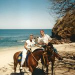 Horseback riding with Sharon in Costa Rica
