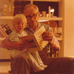 Reading to Grandson Charlie Circa 1979