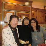 2010 Thanksgiving. Mom, Aida & Gilda
