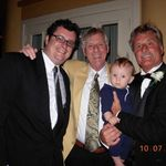 "The Krivosh men:  Chad, Ronnie, ""Baby Lukas,"" and Mickey"