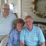 Don and Barbara Chapman (in-laws) with Ronnie