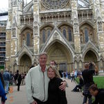 Ronnie and Shannon in London, England