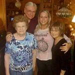 Grandmaw, Papa, Marcie, Mom