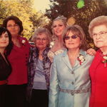Michelle,Aunt Janet,Gayle,Marcie,Mom and Grandmaw