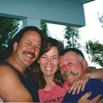 Bob and Liz Turney and Greg -1995