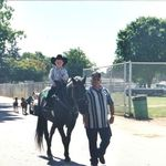 Butch rides Johnny in first gymkhana