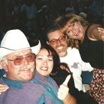 ZZ Top Concert at the Fair with Diane and Andrew Myers of AMI -1999