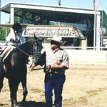 Butch's first horse show - 1998