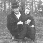 Paul with his mother, Peg. April 1947