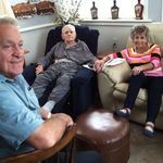 Visit with sister Helen and brother Bobby