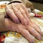 Daddy's Hands...resting at last...their work on this earth is done.