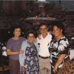 Sister Mary, Lita (Manny's Mother), Manny, Sister Betty early 1983