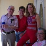 Manny, Debbie, Marilyn, Shirley July 4, 2010