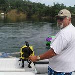 Greg and Shorty at Lake Nacimiento