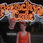 Papa with grand-daughter, Katie, at Frenchy's.